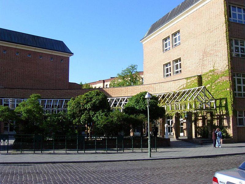 Eingangsbereich Heinrich-Seidel-Grundschule