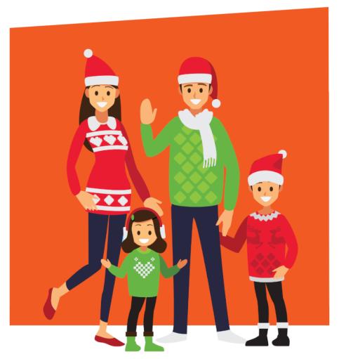 Weihnachtsfest und -ferien