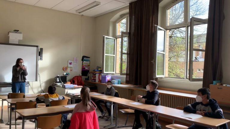 Corona-Test an der Heinrich-Seidel-Grundschule auf Youtube
